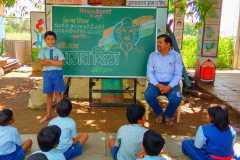 Bhagat Singh Jayanti Celebration at ZP school gopalwadi